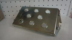 Усилитель-защита раздаточной коробки на Lada 4x4