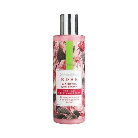 Шампунь «Формула восстановления» для окрашенных и поврежденных волос с абсолютом розы