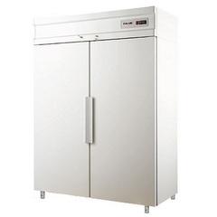 Шкаф холодильный POLAIR CB114-S (1474x930x2064, 0,5кВт, 220В, глухая дверь),  до -18 °C,  1400л