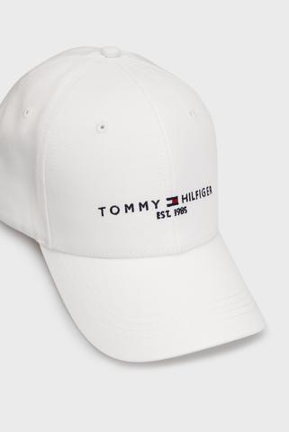 Мужская белая кепка TH ESTABLISHED CAP Tommy Hilfiger