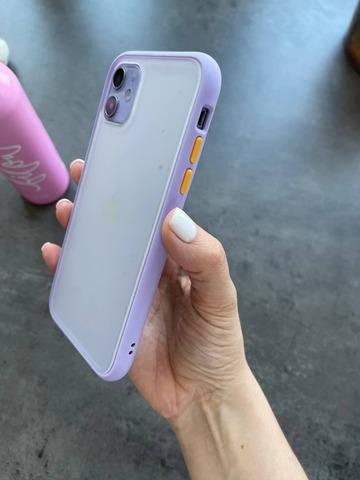 Чехол iPhone 11 Gingle series /glycine orange/