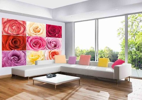 Разноцветное настроение 291x204 см, люкс