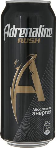 Энергетический напиток Adrenaline Rush 0,449 л