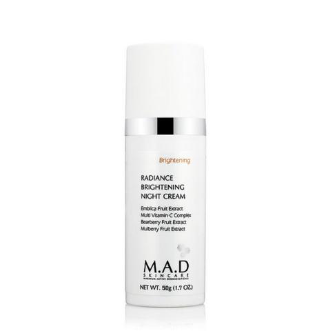 Крем ночной восстанавливающий выравнивающий тон кожи Radiance brightening night cream, 50 мл.