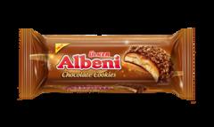 """Печенье """"Albeni"""" bites с карамелью в молочном шоколаде и с крошками  печенья 170г"""