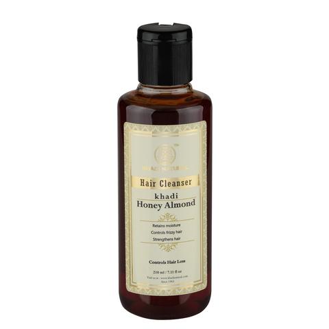 """""""Мед и Миндаль"""" восстанавливающий шампунь для сухих волос Khadi Natural, 210 мл"""