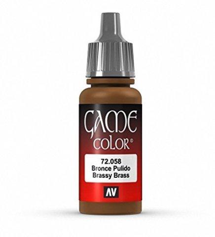 Game Color Brassy Brass 17 ml.