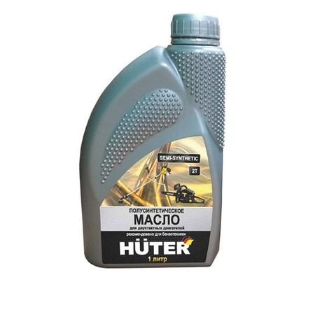Масло 2-х тактное Huter полусинтетика 1л