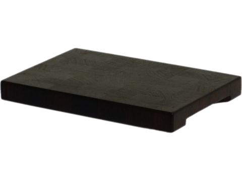 деревянная торцевая разделочная доска из венге