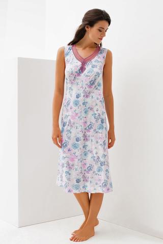 LAETE Ночная сорочка с цветочным принтом 56227