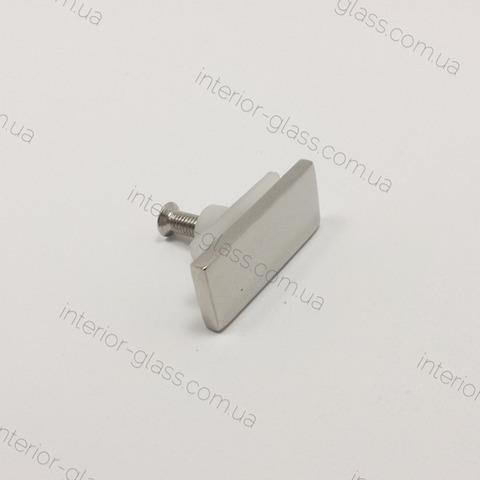 Заглушка трубы на стекло ST-304 PSS нерж. сталь