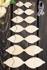 Шаблон для банта деревянный.