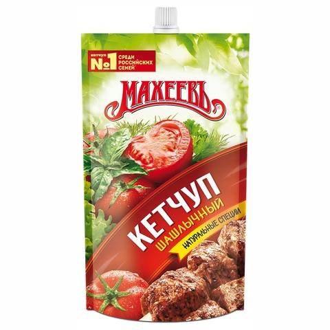 Кетчуп МАХЕЕВЪ Шашлычный 300 г пл РОССИЯ