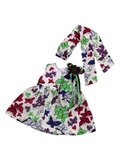 Платье летнее - Фиолетовый. Одежда для кукол, пупсов и мягких игрушек.