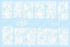 Слайдер наклейки Arti for you цвет белый №W18