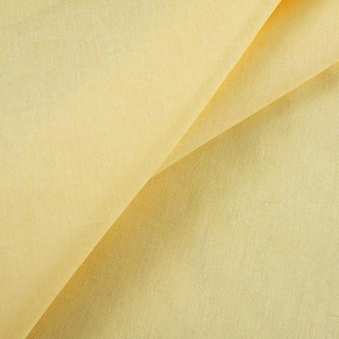 Бязь гладкокрашеная ГОСТ 150 см цвет желтый активное крашение