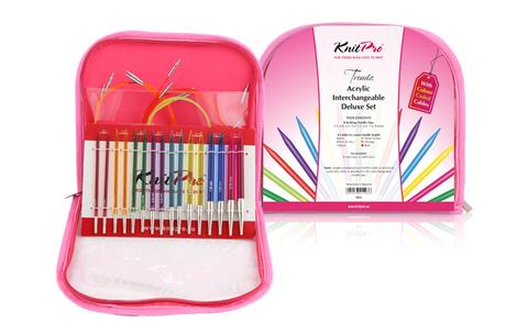 KnitPro Набор съемных спиц Trendz Deluxe 50618
