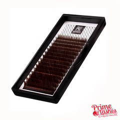 Ресницы Barbara темный шоколад , микс 16 линий