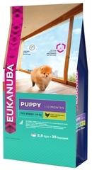 Корм для щенков миниатюрных пород, Eukanuba Dog TOY PUPPY