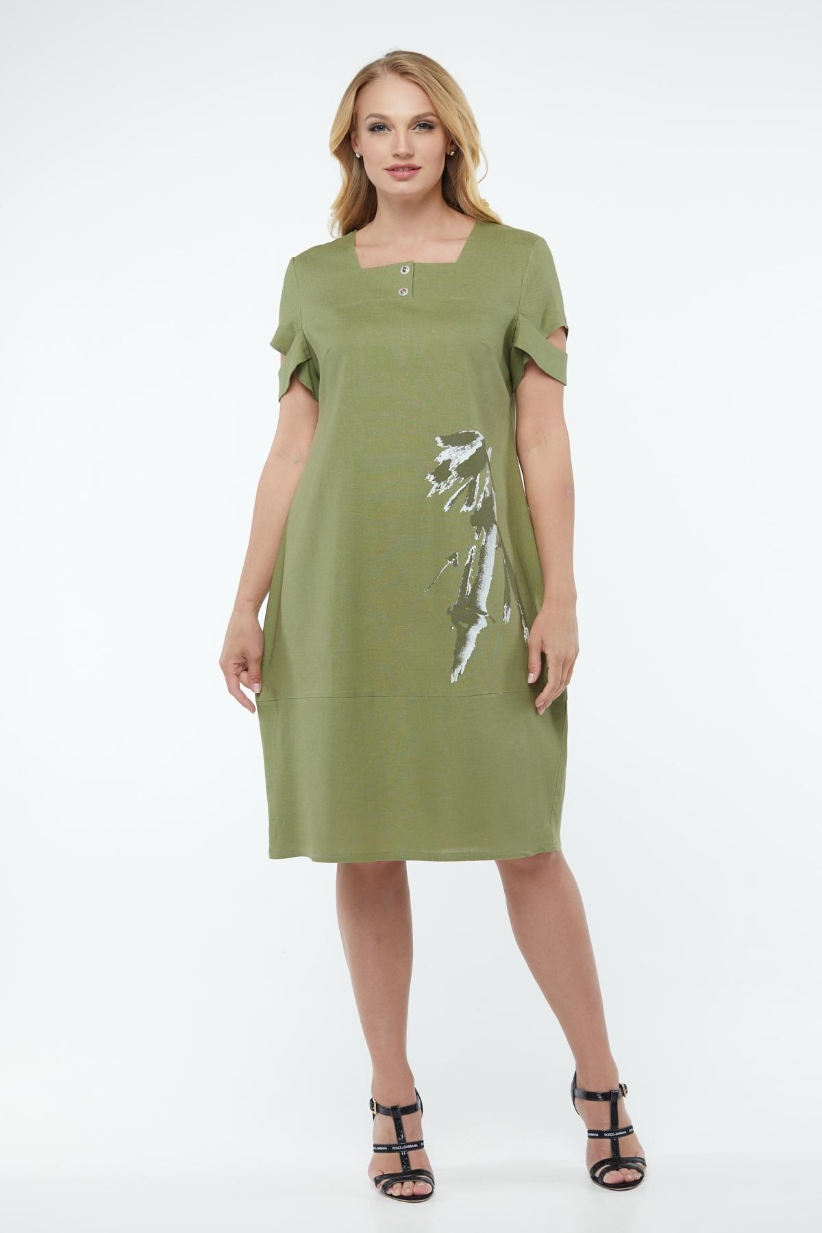 Сукня Каріна (Карина) (оливка)