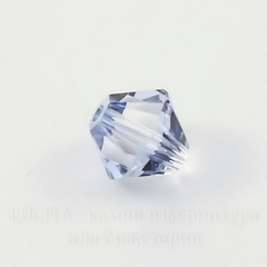 5328 Бусина - биконус Сваровски Crystal Blue Shade 3 мм, 10 штук