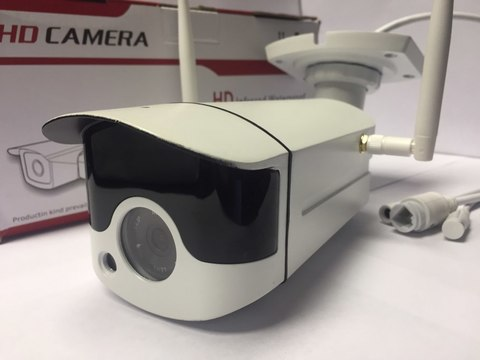 Уличная Wi-Fi IP камера Беспроводная Ip камера Видеонаблюдения Wi-Fi Камера 720 P Ночного Видения CCTV