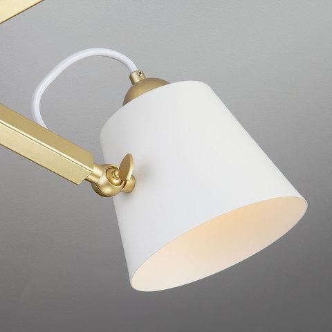 Светильник в стиле лофт с поворотными рожками 70083/5 золото