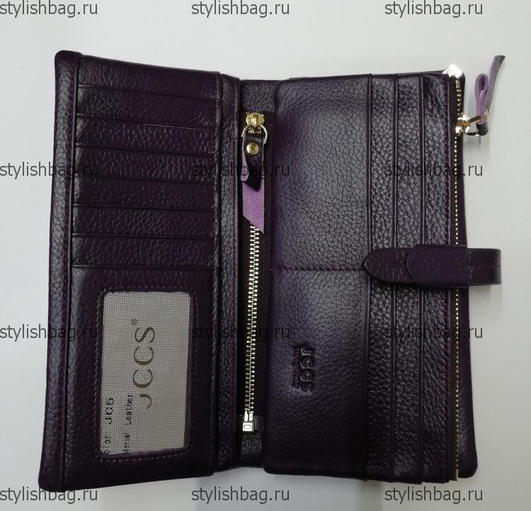 Женский фиолетовый кошелек JCCS j-1029 violet