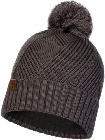 Шапка вязаная с флисом Buff Hat Knitted Polar Raisa Grey Castlerock фото 1