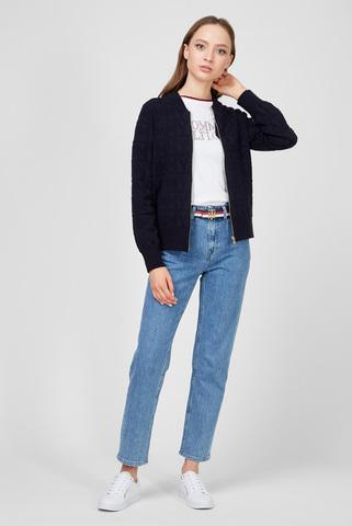 Женские голубые джинсы CLASSIC STRAIGHT Tommy Hilfiger