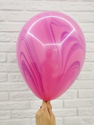 №7Супер Агат Pink Violet