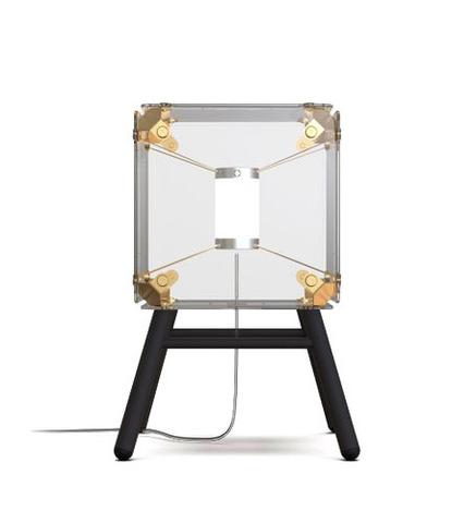 Настольный светильник копия Hyperqube by Felix Monza (1 плафон, прозрачный)