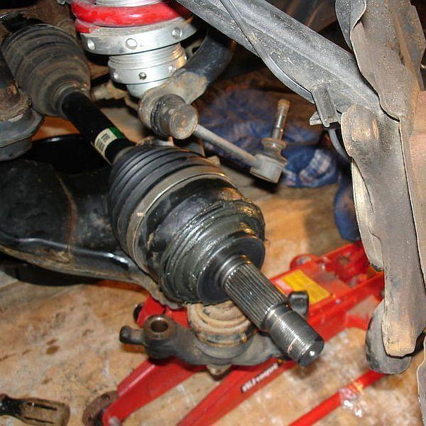 Замена внешнего пыльника ШРУС Prado 120