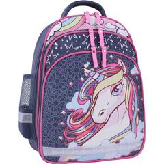 Рюкзак школьный Bagland Mouse 321 серый 511 (0051370)
