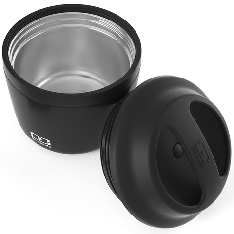 Термос для еды mb element 550 мл контейнер ланч-бокс для горячего и супа, black onyx чёрный