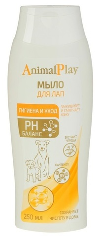 Энимал Плэй мыло жидкое для лап для собак 250 мл