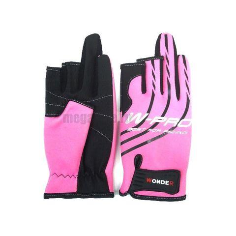 Перчатки Wonder розовые WG-FGL / размер M