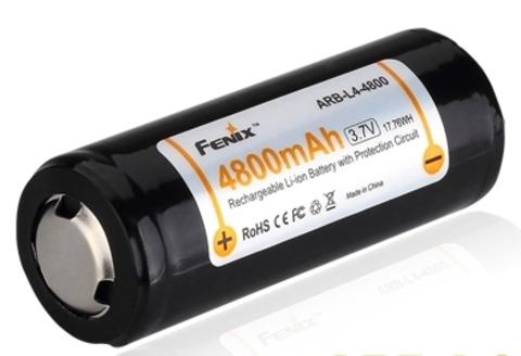 Аккумулятор Li-ion 26650 Fenix 3.6V 4800mAh
