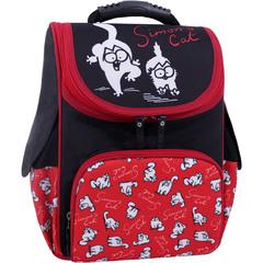 Рюкзак школьный каркасный Bagland Успех 12 л. Черный 372 (00551702)