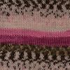 Пряжа YarnArt Crazy Color 172 (Молочный ,розовый,фуксия,хаки)
