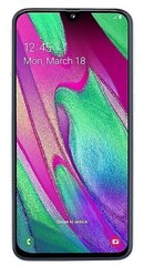 Смартфон Samsung Galaxy A40 64GB Белый