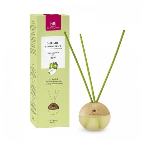 Ароматический диффузор Зеленое яблоко Cristalinas Premium - 20 мл