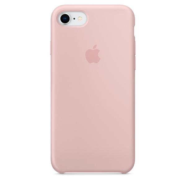Чехол Apple iPhone SE 2020/7/8 Silicone Case Pink Sand (12)