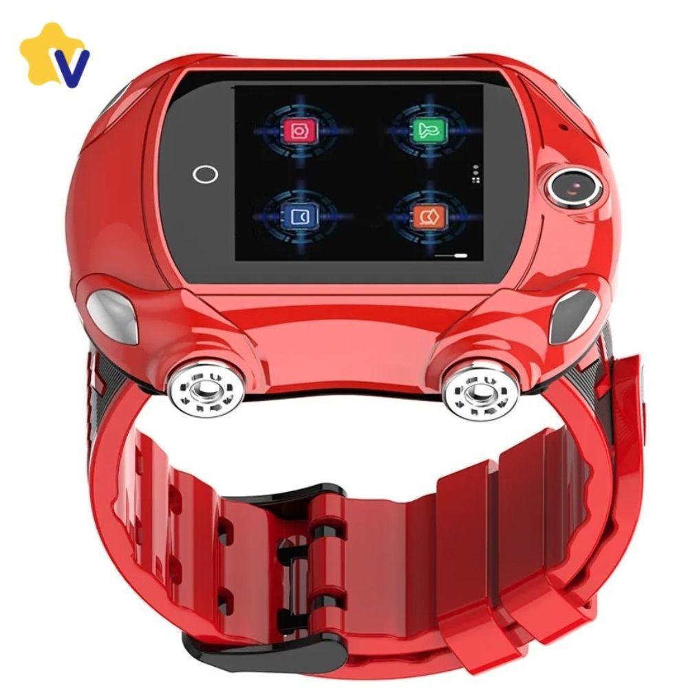 Видеочасы и часы-телефоны с GPS Часы с видеозвонком Smart Baby Watch Wonlex KT14 KT14_cars.jpg