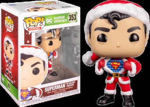 Фигурка Funko Pop! Heroes: Superman in Holiday Sweater