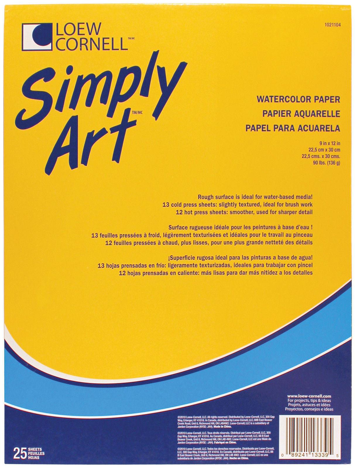 Альбом для акварели Watercolour  22,5 х30см  -25л.