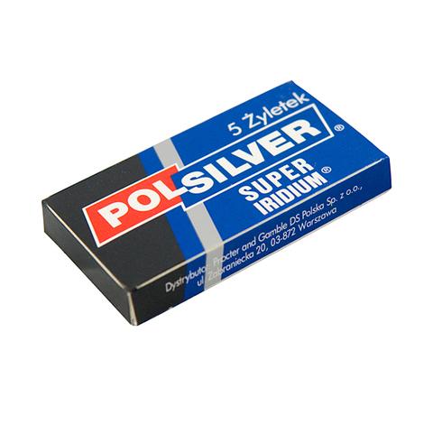 Сменные лезвия Pol Silver Super Iridium 5 шт