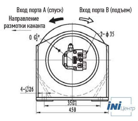 Лебедка свободного сброса IYJ3-30-66-15-L-ZPH3
