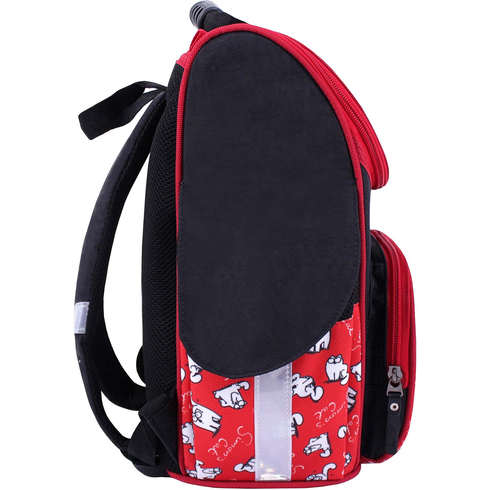 Рюкзак школьный каркасный Bagland Успех 12 л. Черный 372 (00551702) фото 23