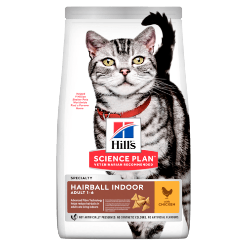 Сухой корм Корм для кошек Hill`s Science Plan Adult Hairball Control, вывод шерсти из желудка, с курицей sp-feline-science-plan-adult-indoor-cat-chicken-dry-productShot_500.png